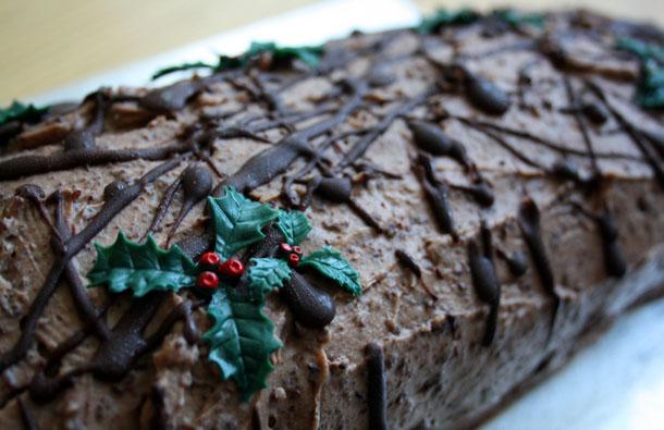 Christmas Special – Festive Chocolate Log, BBC Good Food January 2010   The Saturday Baking ...
