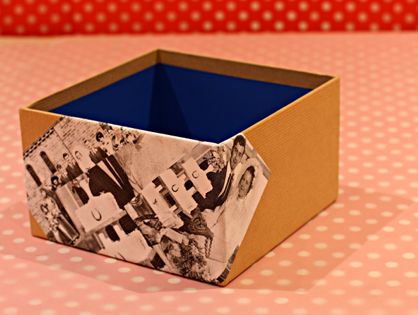 How To Decorate Boxes Cool How To Decorate A Gift Box  The Saturday Baking Challenge Design Decoration
